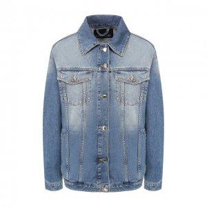Джинсовая куртка Ermanno Scervino. Цвет: синий