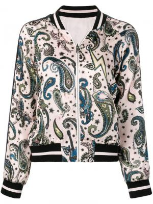 Куртка-бомбер с принтом пейсли Zadig&Voltaire