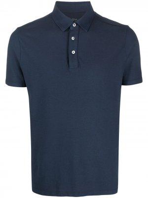 Рубашка-поло с короткими рукавами Altea. Цвет: синий