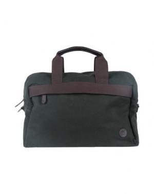 Дорожная сумка TIMBERLAND. Цвет: зеленый-милитари