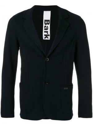 Классический пиджак Bark. Цвет: синий