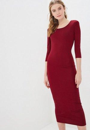 Платье GALOLBO. Цвет: бордовый