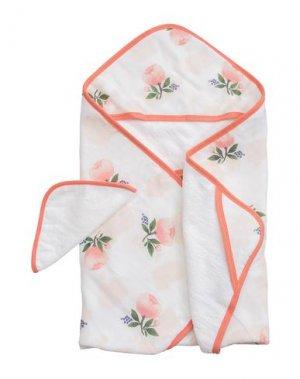 Банный халат LITTLE UNICORN. Цвет: розовый