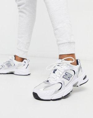 Белые кроссовки 530-Белый New Balance