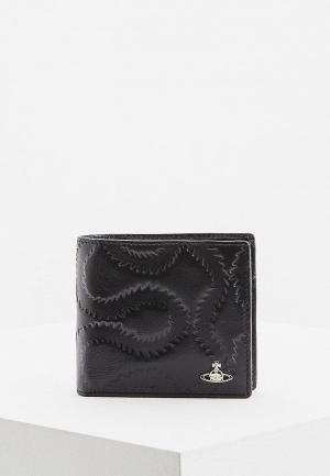 Кошелек Vivienne Westwood Man. Цвет: черный