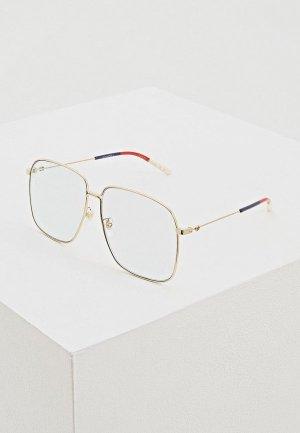Очки солнцезащитные Gucci GG0394S006. Цвет: голубой