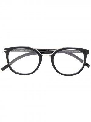 Очки BlackTie267 Dior Eyewear. Цвет: черный
