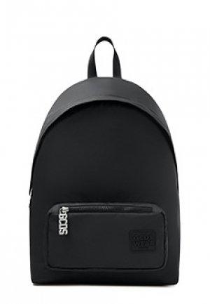 Рюкзак GCDS. Цвет: черный