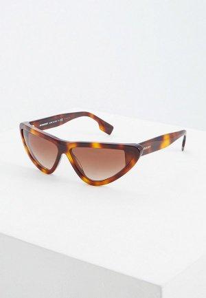 Очки солнцезащитные Burberry BE4292 33163B. Цвет: коричневый