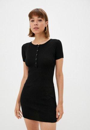 Платье GALOLBO. Цвет: черный