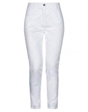 Повседневные брюки GOLD. Цвет: белый