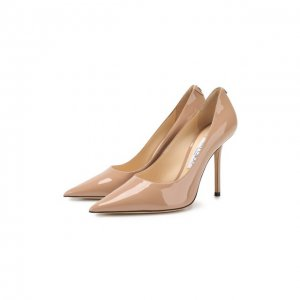 Кожаные туфли Love 100 Jimmy Choo. Цвет: розовый