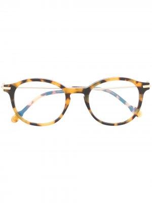 Tortoiseshell round glasses Fred. Цвет: коричневый