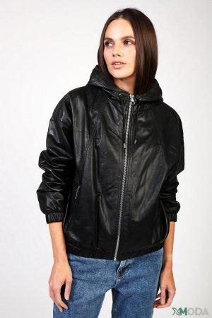 Куртка Set. Цвет: чёрный