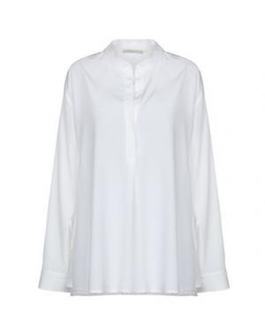 Блузка GIO' MORETTI. Цвет: бежевый