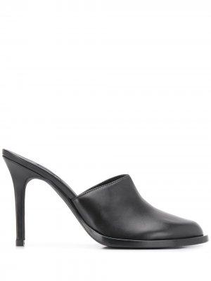 Мюли на каблуке Ann Demeulemeester. Цвет: черный