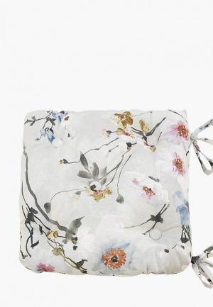 Подушка на стул Kauffort Naturel. Цвет: серый