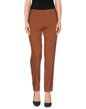 Повседневные брюки JO NO FUI. Цвет: какао