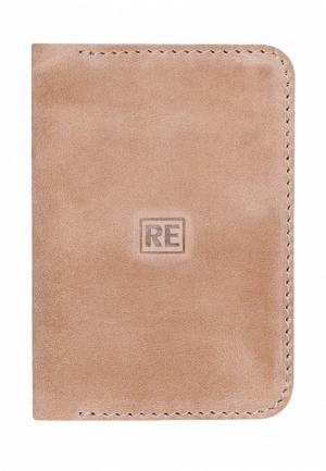 Обложка для паспорта Reconds. Цвет: бежевый