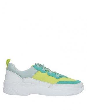 Кеды и кроссовки VAGABOND SHOEMAKERS. Цвет: кислотно-зеленый