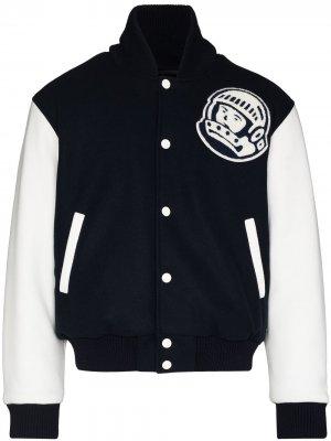 Бомбер Astro с нашивкой-логотипом Billionaire Boys Club. Цвет: синий