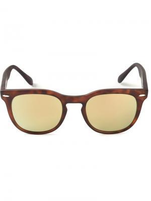 Солнцезащитные очки Memento Spektre. Цвет: коричневый