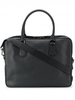 Сумка для ноутбука с логотипом Karl Lagerfeld. Цвет: черный