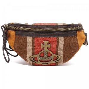Поясная сумка Vivienne Westwood. Цвет: коричневый