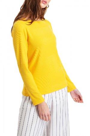 Пуловер BGN. Цвет: желтый