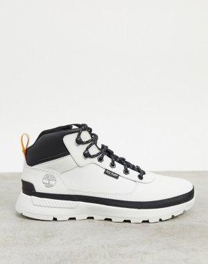 Белые водонепроницаемые ботинки -Белый Timberland