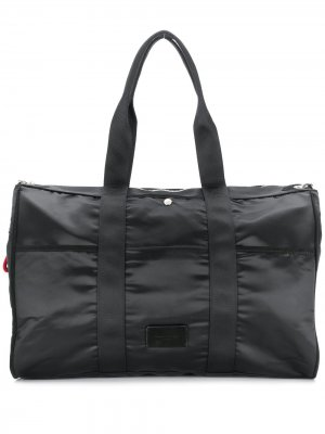 Большая сумка-тоут на молнии Sonia Rykiel. Цвет: черный