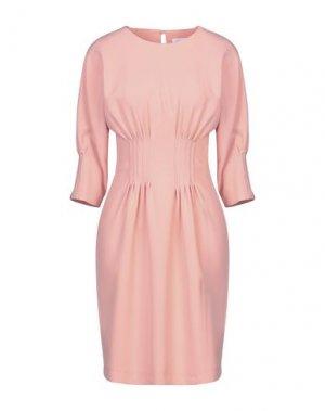 Короткое платье ANNARITA N TWENTY 4H. Цвет: розовый