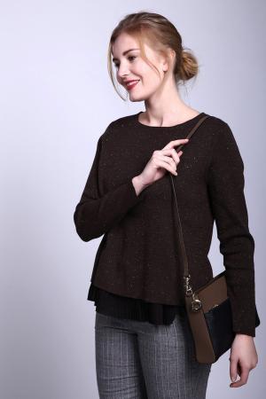 Пуловер Basler. Цвет: коричневый