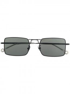 Солнцезащитные очки Paris Etudes. Цвет: черный