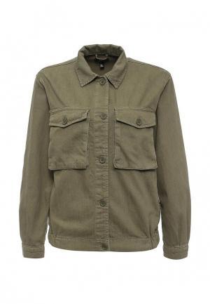 Куртка Topshop. Цвет: хаки