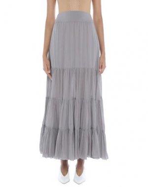Длинная юбка EUROPEAN CULTURE. Цвет: светло-серый