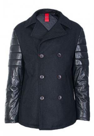 Пальто FONTANELLI. Цвет: черный