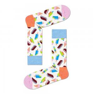 Icecream Socks Happy. Цвет: белый
