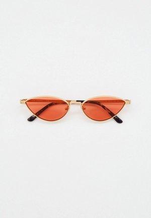Очки солнцезащитные Karl Lagerfeld KL 312S 714. Цвет: золотой