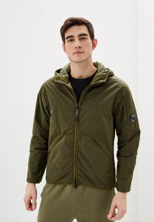Куртка утепленная C.P. Company. Цвет: хаки