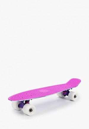 Скейтборд Termit Круизер 22. Цвет: фиолетовый