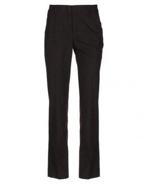 Повседневные брюки CAPPELLINI by PESERICO. Цвет: темно-коричневый