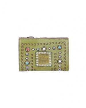 Бумажник CAMPOMAGGI. Цвет: светло-зеленый