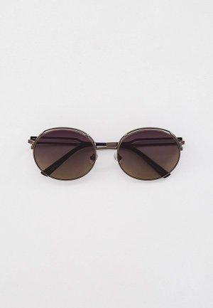 Очки солнцезащитные Havvs HV68026, с поляризованными линзами. Цвет: серый
