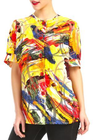 Blouse Doris Streich. Цвет: multicolor