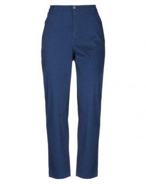 Повседневные брюки MAURICE ABOT. Цвет: синий