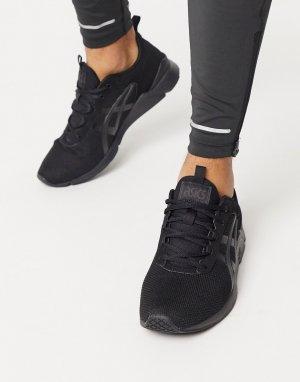 Черные кроссовки gel runner-Черный Asics