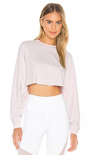 Пуловер take alo. Цвет: розовый
