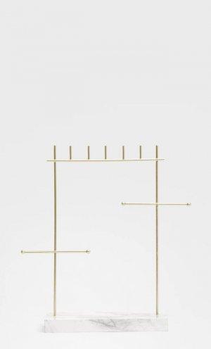 Мини Подставка Для Драгоценностей С Мраморным Эффектом Бежевый 103 Stradivarius. Цвет: бежевый
