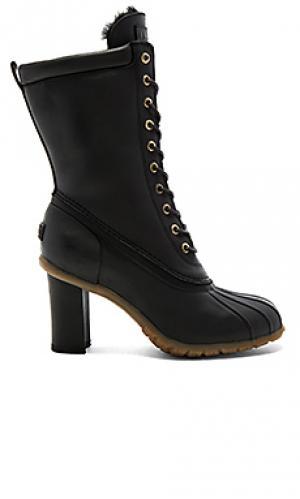 Высокие туфли с подкладкой из овчины havea Australia Luxe Collective. Цвет: черный
